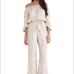 Novella royale off the shoulder jumpsuit